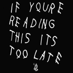 drake hand written album art