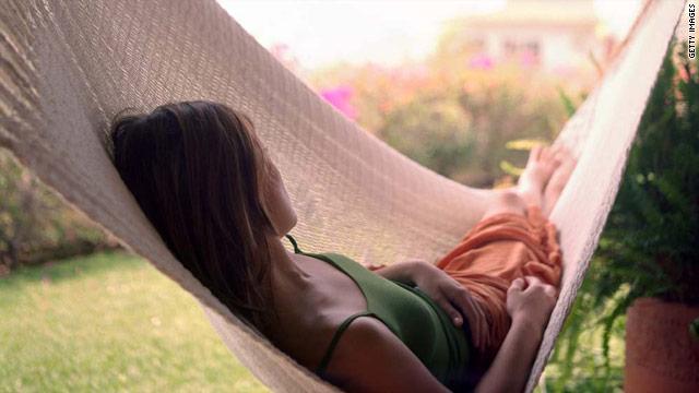 The Secret to Summer Sleep? Get a Hammock…