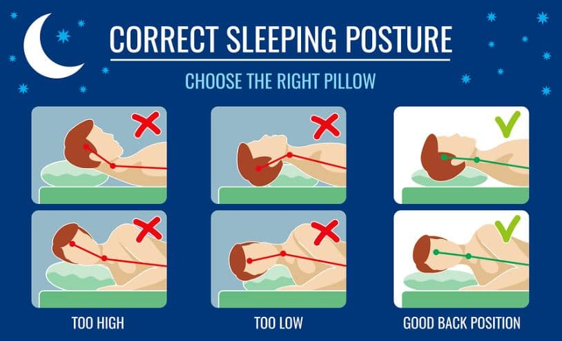 check out the best pillow for neck pain