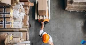card gestão e armazenamento de estoque