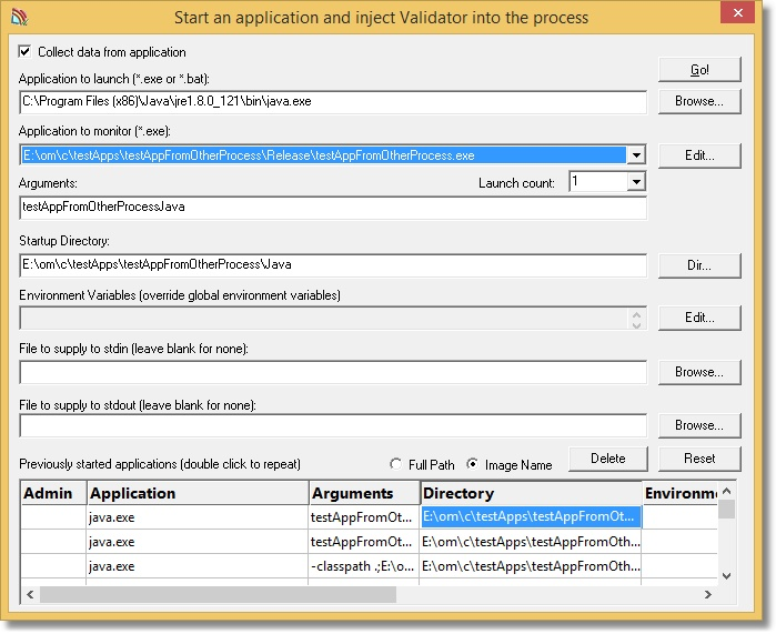 CVLaunchDialogApplicationToMonitorJava