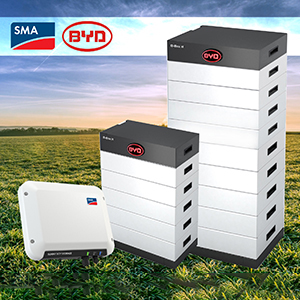 BYD On-Grid Battery Solution