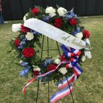 Wreath at The Wall That Heals