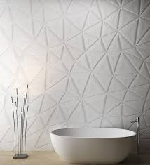 Custom designed Corian® solid surface feature wall by M.R. Walls.