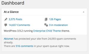 Statistiche del blog