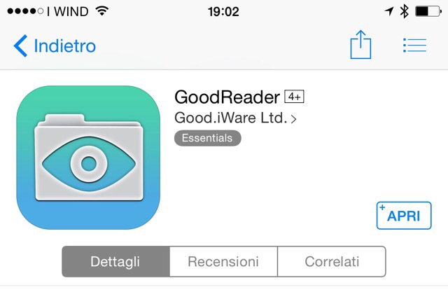 posta certificata su iphone