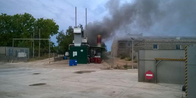 Incendio en nuestra planta de biog s en torregrossa el for Oficina virtual de empleo sevilla