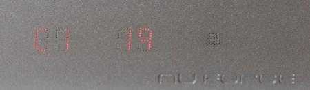 L'afficheur LED du NuForce DDA-100