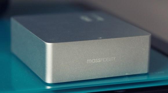 Le DAC Bluetooth Mass Fidelity Relay est élégamment  fini