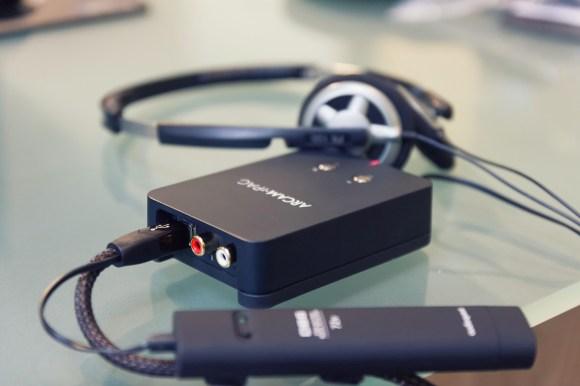 L'Arcam rPAC dans des conditions optimales grâce au câble USB Audioquest USB Coffee.