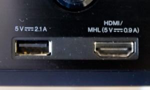 Le port USB du Pioneer VSX-S510 peut recharger un iPad