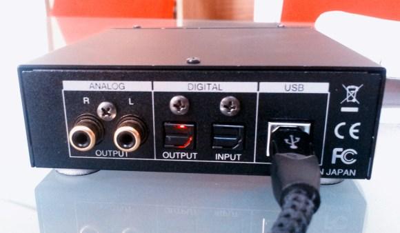 Fostex HP-A3 face arrière