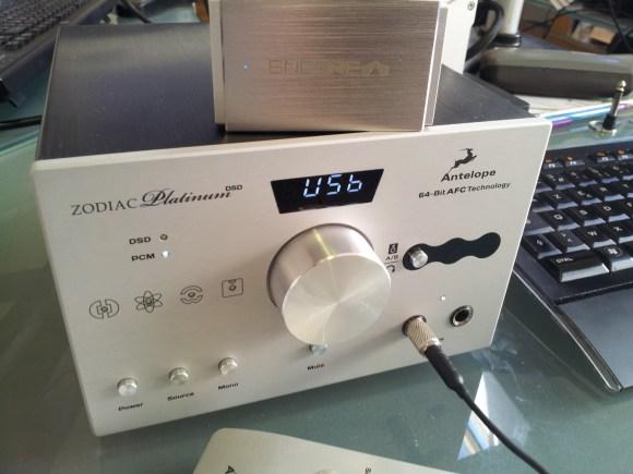 L'Encore mDAC n'est pas ridicule en comparaison de l'Antelope Audio Zodiac Platinum, mais n'ouvre évidemment pas les portes du même nirvana sonore.