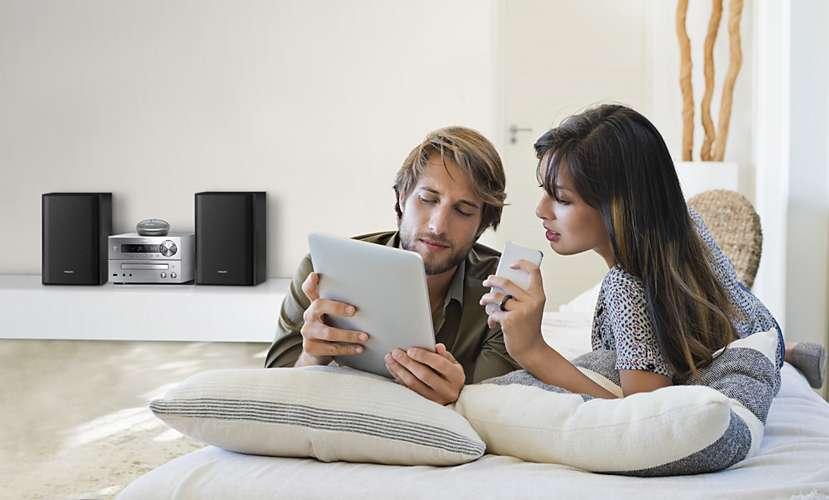 comment couter sa musique en bluetooth avec une cha ne hi fi ou home cin ma le blog de son. Black Bedroom Furniture Sets. Home Design Ideas