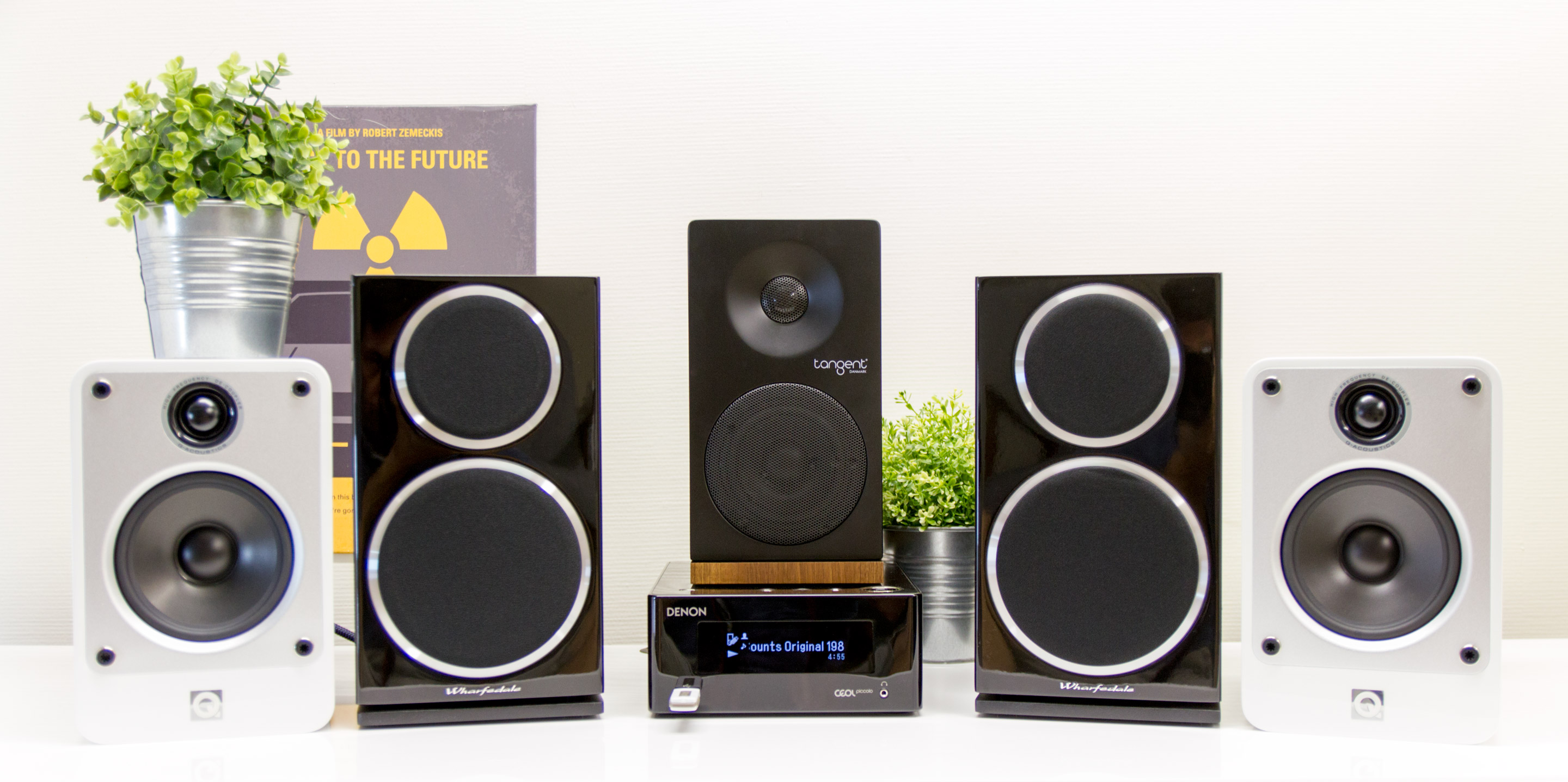 Review: Denon Ceol Piccolo N4 (with Q Acoustics, Tangent and