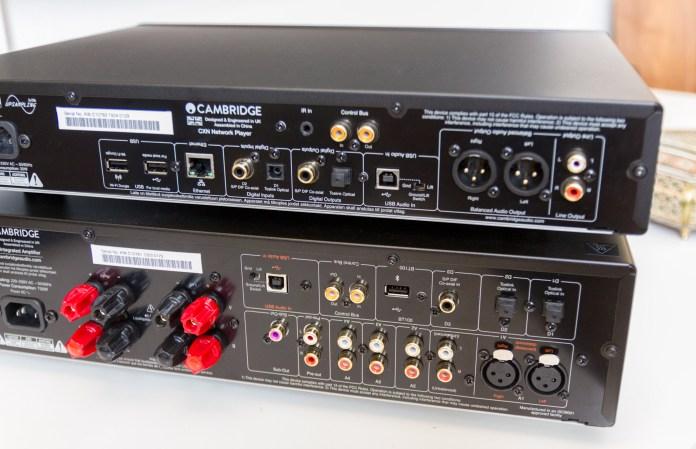 Cambridge CXN et CXA80