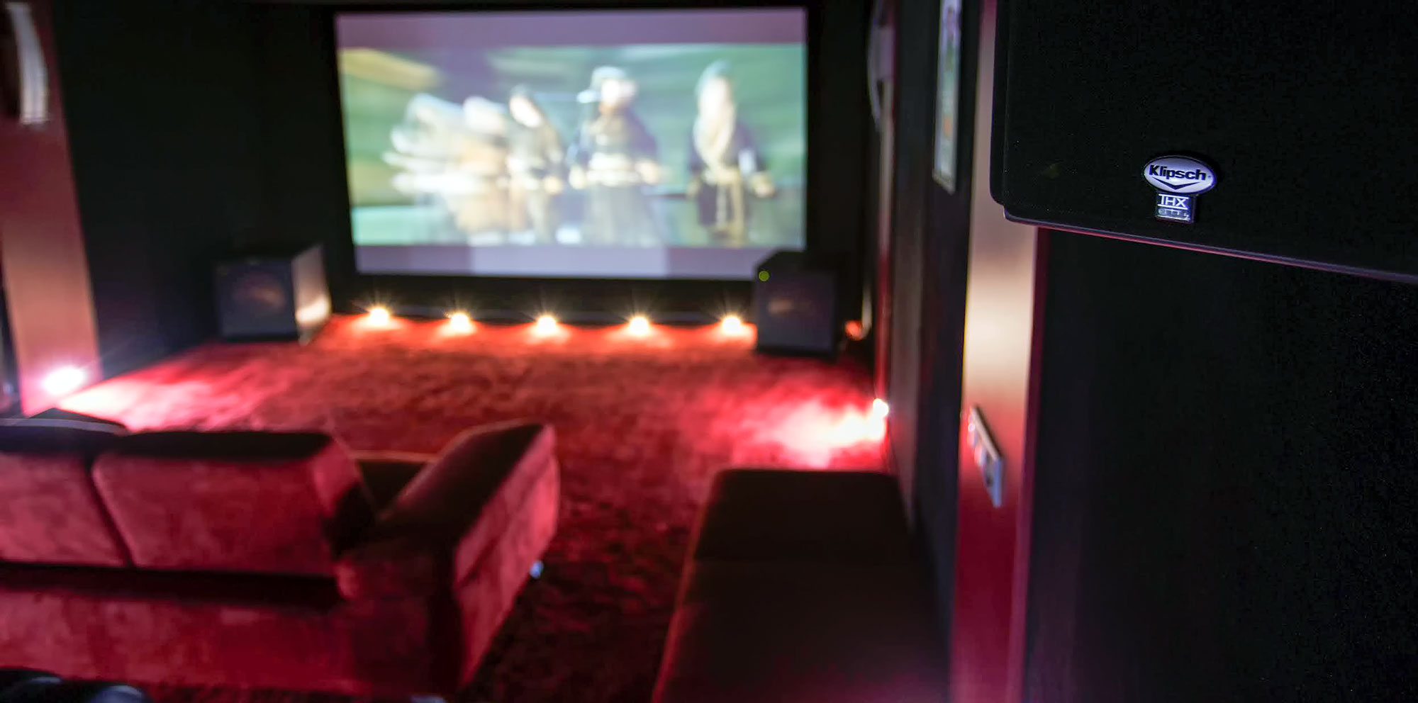 Visite D Une Salle Home Cinema Klispch Thx Anthem 7 2 Le