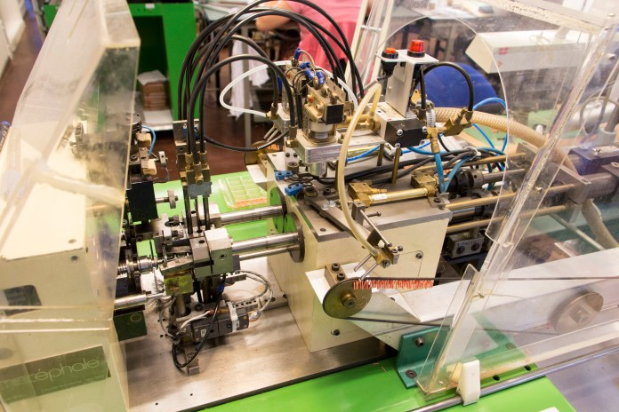 Fabrication des bobines des cellules Ortofon MM