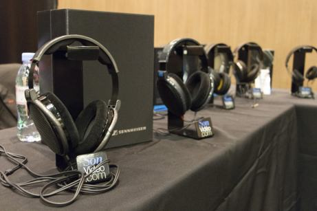 Festival Sound Days stand casques Sennheiser