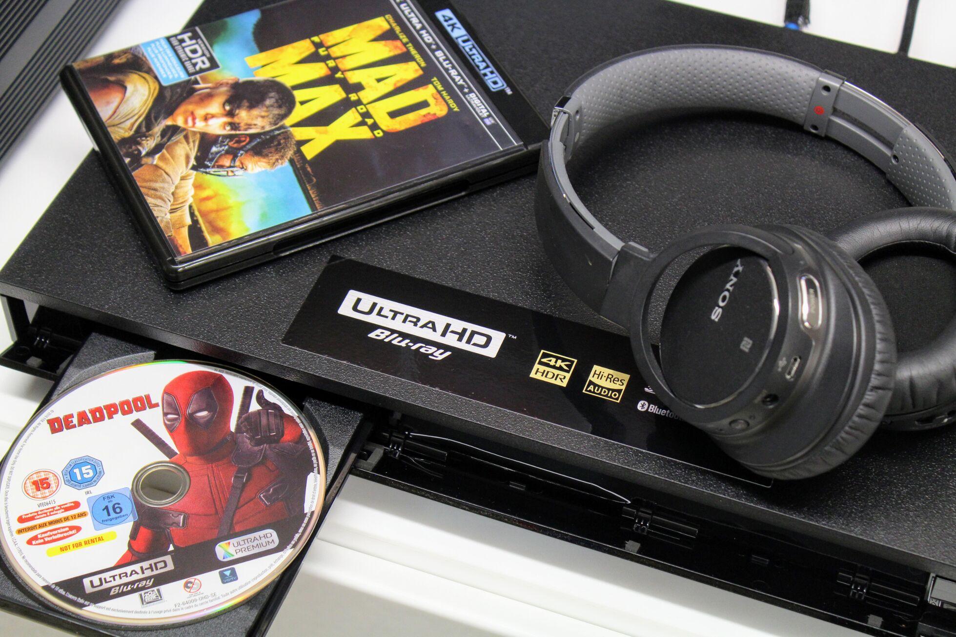 Review: Sony UBP-X800 - Son-Vidéo com: blog