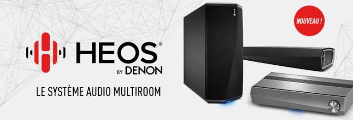 Heos by Denon - Système audio multiroom