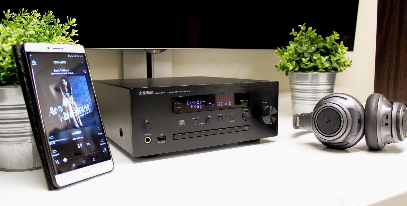 Review: Yamaha CRX-N470D - Son-Vidéo com: blog