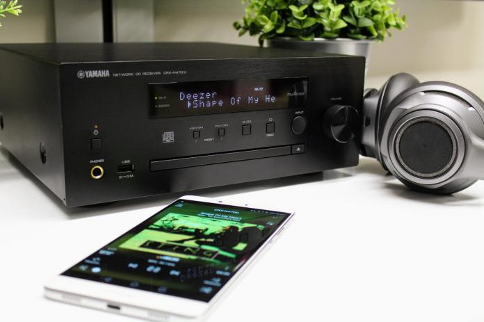 test Yamaha CRX-N470D
