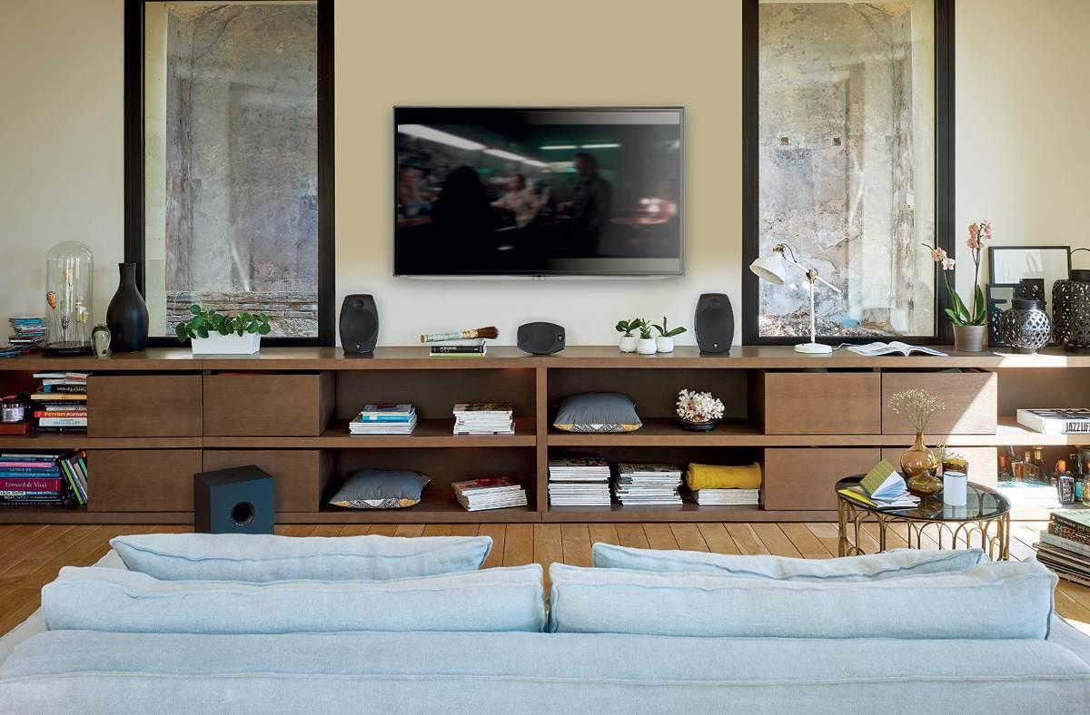 Panneau Mural Derriere Tv comment améliorer l'acoustique de sa pièce de vie pour l