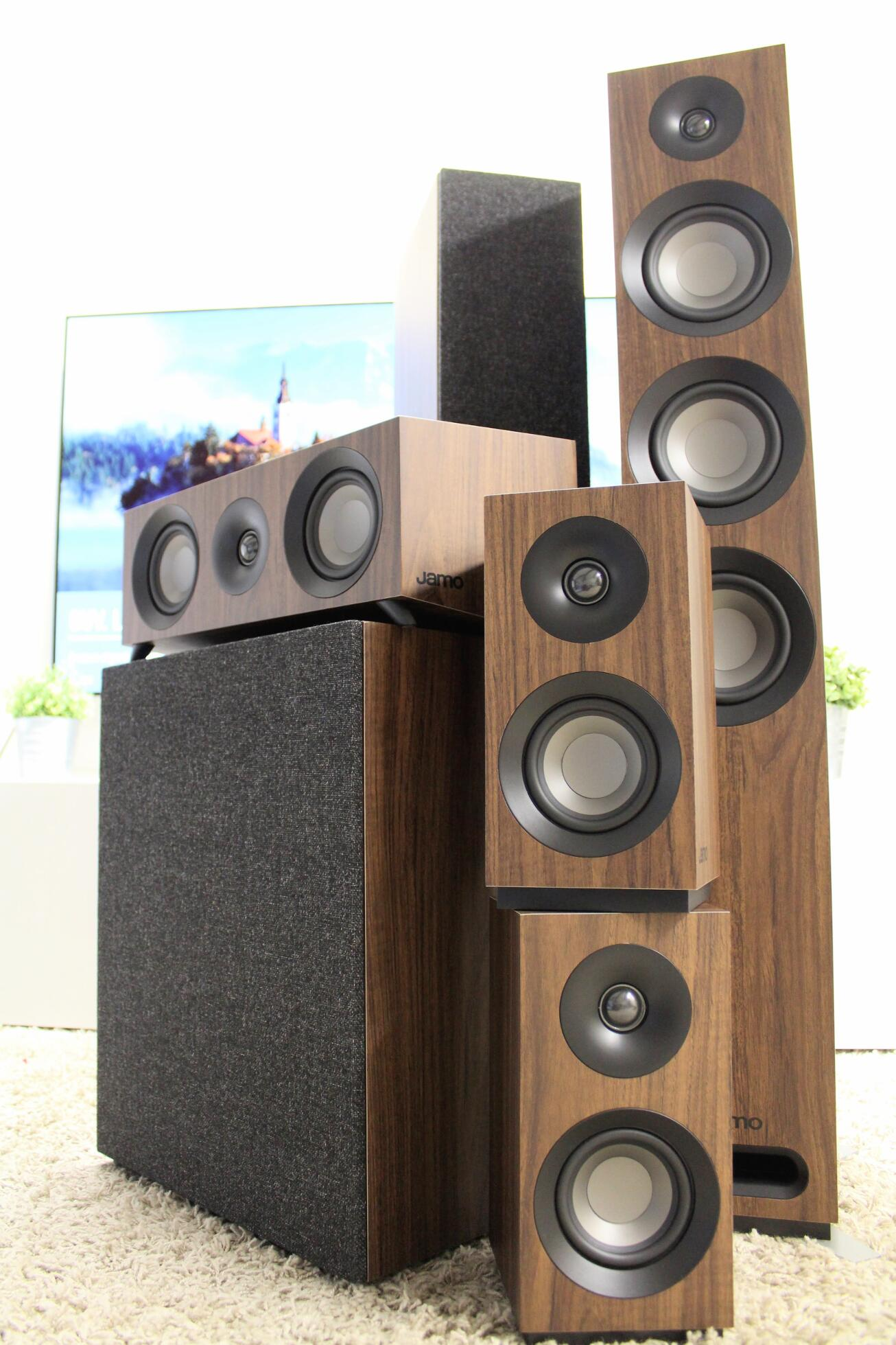 Review: Jamo S809 HCS 5 1 - Son-Vidéo com: blog