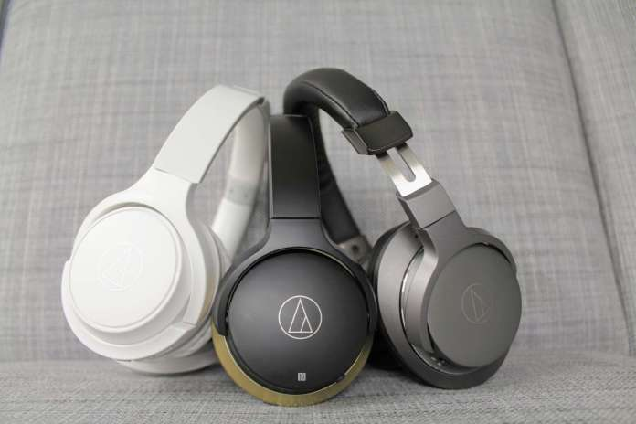 test audio-technica ath-ar5bt, ar3bt, s200bt