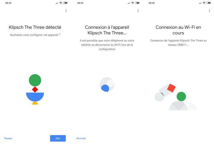Klipsch The Three avec Google Assistant