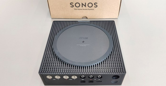 Sonos Amp : vue de dessous