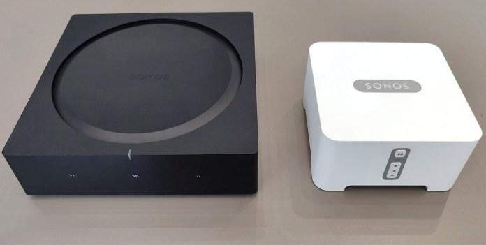 Sonos Amp & Sonos Connect