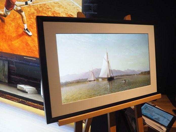 Meural est une marque créée par Netgear pour proposer des tableaux numériques avec un gros catalogue d'oeuvres d'art.