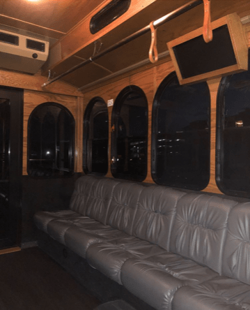 Trolley to Hill Country Galleria
