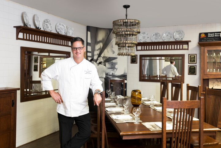 Chef Robert Graham in TableOne kitchen chef's table.jpg