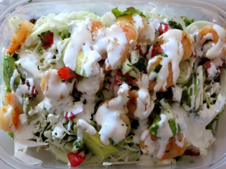 Habanero Butter Shrimp Tacos Leftovers