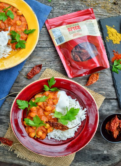 Chickpea Tikka Masala   Sonoran Spice Ghost Peppers