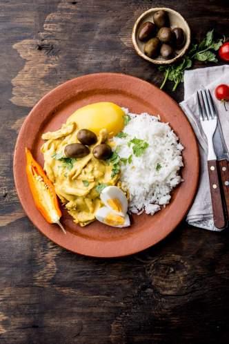 Peruvian Cuisine: ají de gallina