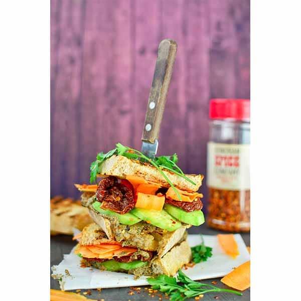 Baba Ganoush Sandwich