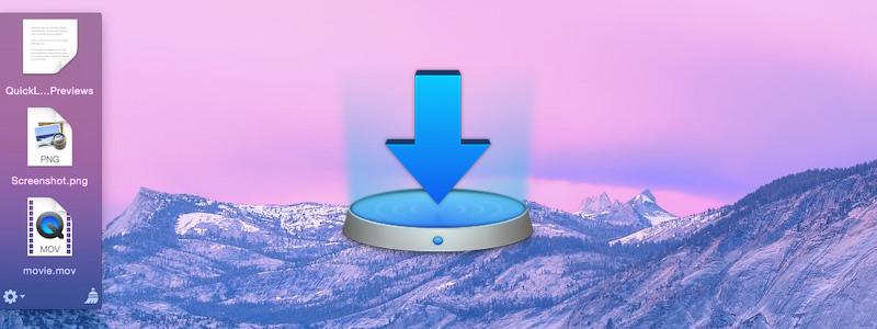Yoinkで画面隅にファイルの一時置き場を