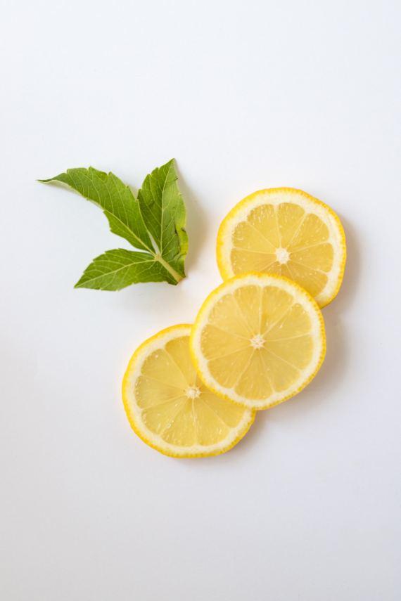 reduce bloating improve digestion foods lemon