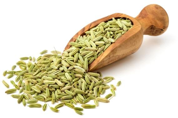 reduce bloating foods fennel seeds