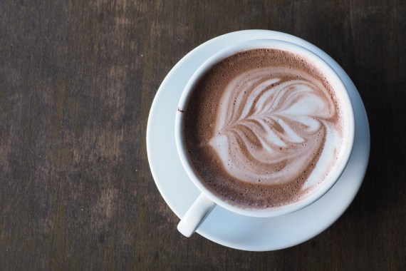 Caffeine in hot chocolate