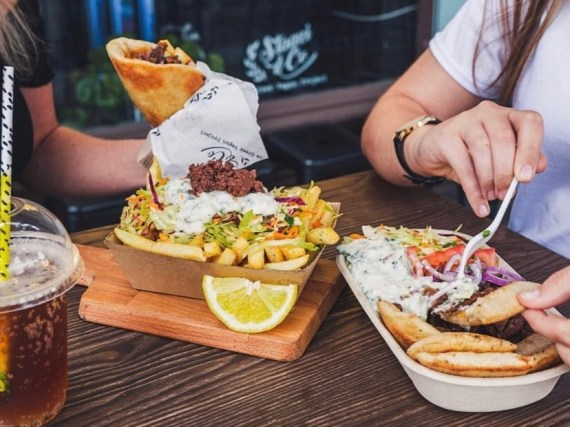 Plant-Based Greek Street Food at Staazi & Co.
