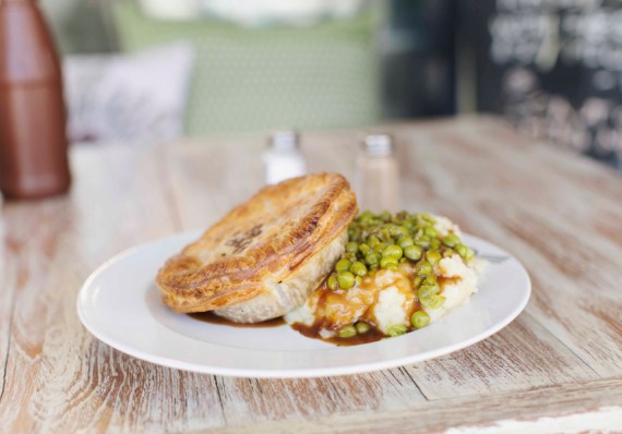 Pie, Mash and Peas at Funky Pies