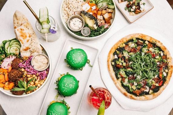 Plant-based food at Eden Bondi