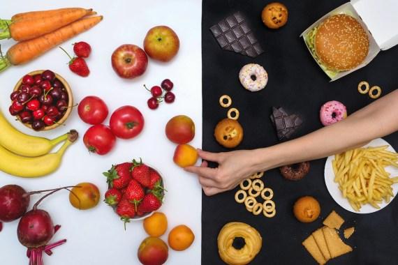 Wholefoods vs. processed food