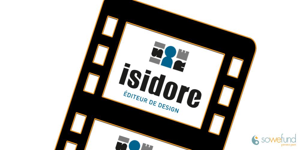 Vidéo de présentation de la start-up Isidore
