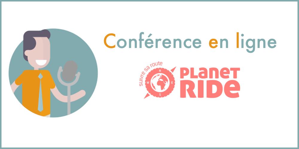Conférence en ligne de Planet Ride